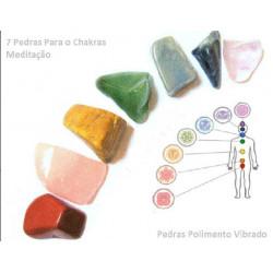 kit pedra dos chacras - 7...